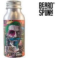 Barba Spunk–Edición Especial Zing Ginger Premium aceite de barba y bigote