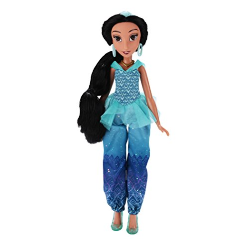 Hasbro Disney Prinzessin B5826ES2 - Schimmerglanz Jasmin, (Outfit Disney Jasmins)