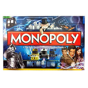 Monopoly - Doctor Who Edition 2011 - Winning Moves by Monopoly