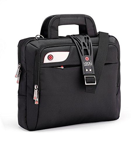 I-Stay Netbook Tasche 33,8 cm 13,3 Zoll schwarz | is0107 | Hülle geeignet für Laptop, Notebook, Messenger, Organizer | von I Stay