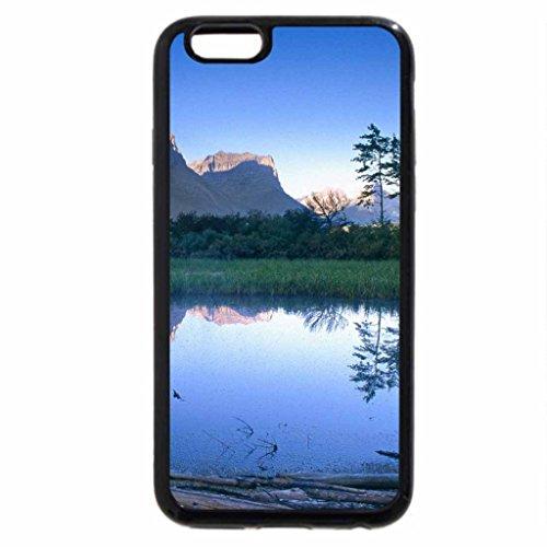 iPhone 6S / iPhone 6 Case (Black) Parque nacional de Montana