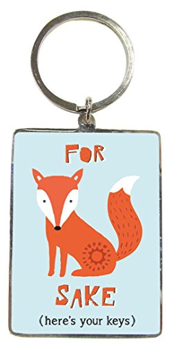 for-fox-sake-metallic-keyring-gift-idea