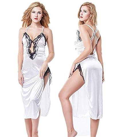 DONG Lingerie Sexy Nuisette Sexy Femmes Sexy V profond Décolleté