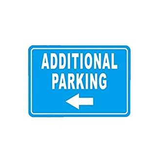 ALEKO WSN13 Aluminum Additional Parking Sign 7 x 10 Inches