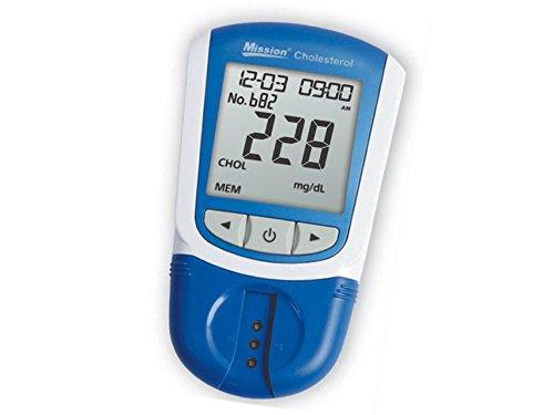 Mission 3 in 1 misuratore di colesterolo, profolo lipidico nel sangue