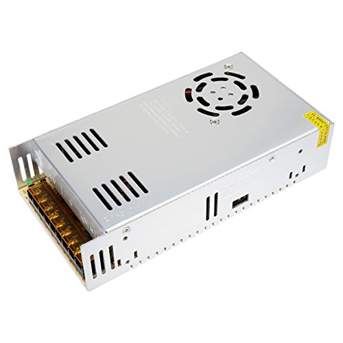 SUPERNIGHT DC Transformer Switching Power Supply AC200-240v to DC DC 24V 14.6A 350W Universal Regulator for Home Appliances, CCTV, Radio, Computer Project ect.