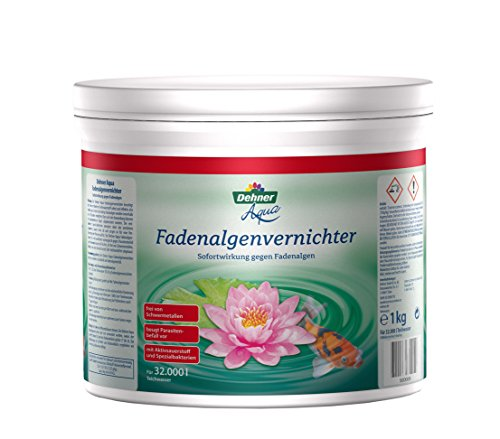 Dehner Aqua Produit anti-algues filamenteuses 1 000 g pour env. 32 000 l