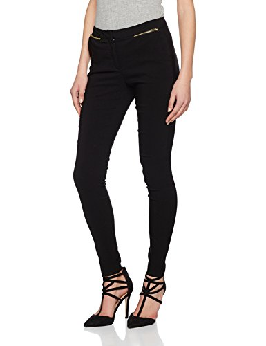 New Look Damen Hose Slim Bengaline Zip