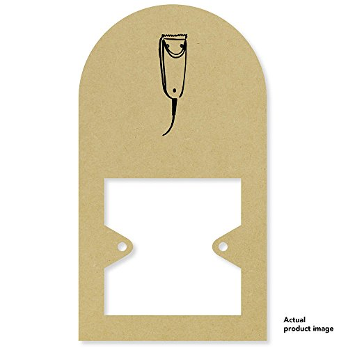 Price comparison product image 'Electric Shaver' Tall Light Switch Plate / Surround (LS00010126)