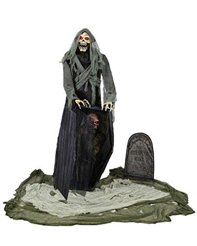 Graveyard Grim Reaper Halloween Animatronic