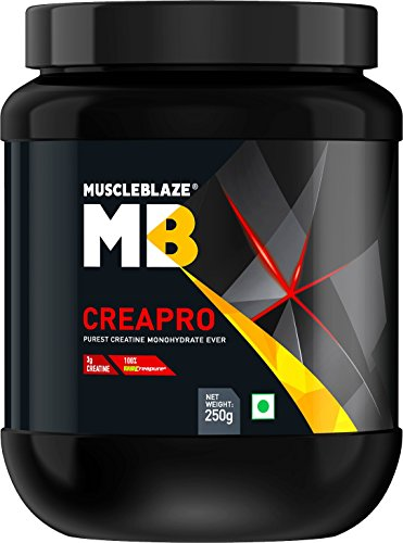 MuscleBlaze CreaPRO Creatine with Creapure, Unflavoured 250 gms / 0.55...