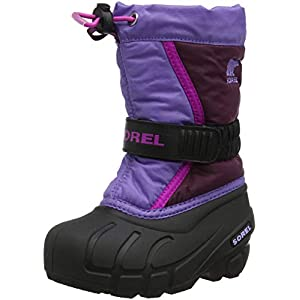 Sorel Children Unisex Boots, CHILDRENS FLURRY, Purple (Purple Dahlia/Paisley Purple), Size UK: Child 12
