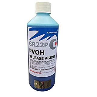 PVA mould release Polyvinyl Alcohol gloss release agent 500 ml
