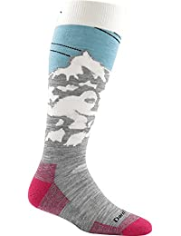 Glacier , Large : Darn Tough Yeti OTC Light Sock - Women's