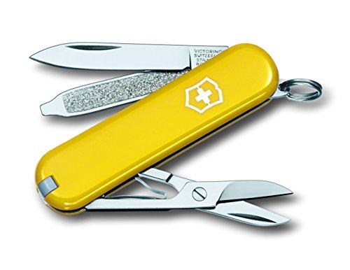 Preisvergleich Produktbild Victorinox Taschenwerkzeug Classic SD gelb gross Blister, 0.6223.8B1