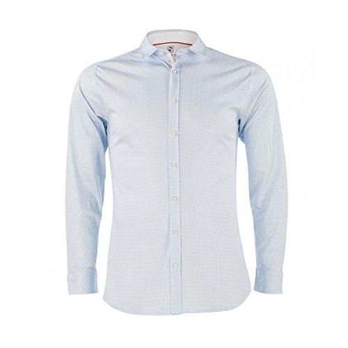 SOTO -  Camicia classiche  - Maniche lunghe  - Uomo Silber (82)