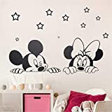 stickers muraux stickers muraux 3d Mickey Mouse Wall Sticker Decal Cartoon Mickey...