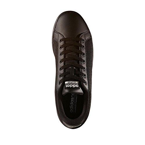 adidas Herren Cloudfoam Advantage Clean Gymnastikschuhe CBLACK/CBLACK/CWHITE