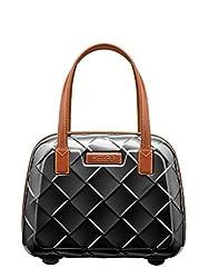 Stratic Leather & More Beauty Case Kosmetikkoffer, 36 cm, 15 L, Black