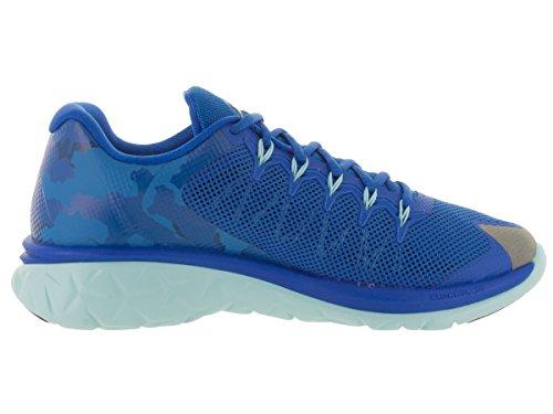Nike Jordan Flight Runner 2, Chaussures de Running Entrainement Homme, Noir, Taille Bleu - Azul (Soar / Midnight Navy-Copa)