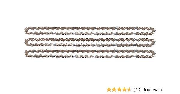 "Schwert 2 Ketten passend für Makita DCS3410TH 35 cm 3//8/"" 52 TG 1,3mm Sägekette"