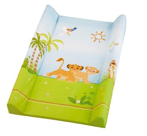 Rotho Babydesign 20099 0018 93 - Colchón cambiador con diseño Lion King, 50 x 70 cm