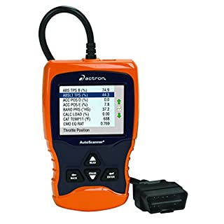 Actron CP9670 AUTOSCANNER Trilingual OBD II and CAN Scan Tool with Color Screen by Actron