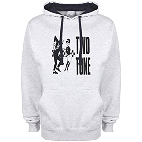 Rude Boy And Girl Ska Dancing Qualità Superiore Felpa con Cappuccio Unisex