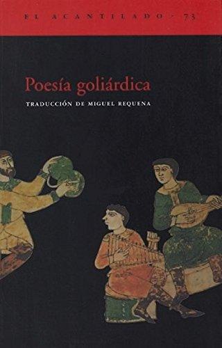 Poesía goliárdica (El Acantilado)