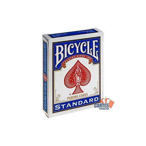 Set mit 54 Karten Fahrrad Blau: White Magic Duplex (Fahrrad-magic-karten)