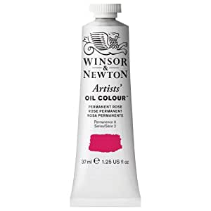 Winsor & Newton Artists Oil Color Paint Tube 37ml Permanent Rose AD