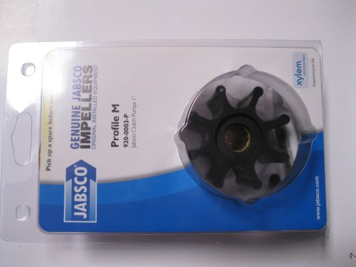 Jabsco Impeller Kit - 8 Blade - Nitrile - 2-9/16