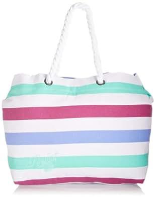 Animal Womens Oceon Canvas and Beach Tote Bag LU4SE354-279 Multicolour
