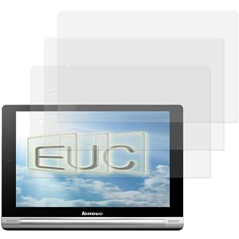 3 x Displayschutzfolie klar/wie unsichtbar für Lenovo Yoga Tablet