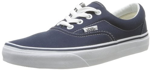 Vans Era Classic Canvas, Sneaker a Collo Basso Unisex - Adulto, Blu (Navy), 35 EU (3 UK)