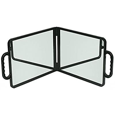 SIBEL Hairdressers Bi-Vision large double folding mirror