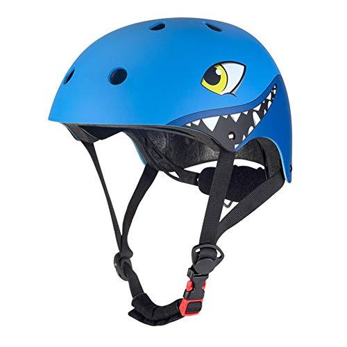 Euopat Casco per Bambini, Casco a rulli per Bicicletta Casco per Bambini Casco per Bici da Bambino, Casco da Skateboard Regolabile Casco da Skateboard