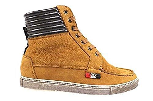 scarpe donna SERAFINI 38 polacchini marrone pelle AP200