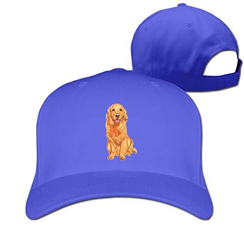 Osmykqe Golden Retriever Smile Casual Cotton Baseball Cap Multiple Sport Caps Hat Birthday Gift -
