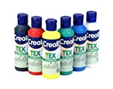 Creall havo92012480ml Sortiment Havo Textilfarbe, Set (6-teilig)