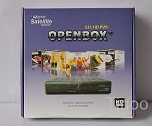 2013 original Openbox S11 HD PVR récepteur satellite numérique cccam newcam mgcam pas cloné livraison gratuite