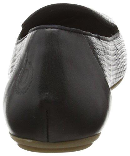 Bugatti J48671, Ballerines fermées femme Noir - Noir