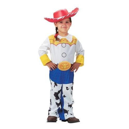 Jessie Aus Toystory Kostüm - Disguise DI5480-S Girls Toy Story Quality Jessie Costume Size Small by Disguise