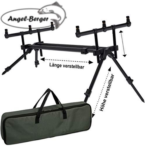Angel-Berger Rod Pod Verschiedene Modelle mit Tasche Rod Pod 3 Rod Pod
