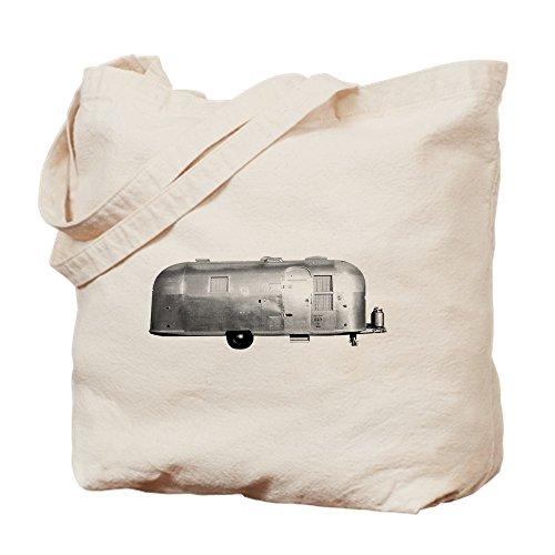 CafePress–Airstream Trailer–Leinwand Natur Tasche, Reinigungstuch Einkaufstasche Tote S khaki (Lustiges Redneck-humor)