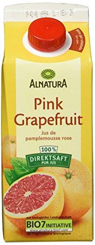 Alnatura Bio Pink-Grapefruitsaft, 6er Pack (6 x 750 ml)