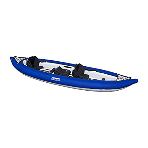 Aquaglide Chinook XP Tandem XL 3 Person Inflatable Kayak Package 2015