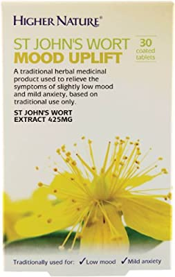 Higher Nature St John's Wort Mood Uplift - 30 coated tablets from Higher Nature