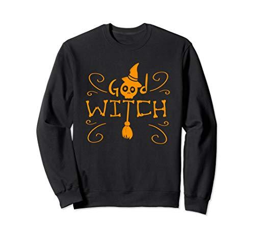 Halloween gute Hexe Spaß Prima für Mädchen und Frauen Sweatshirt (Hexe Spa)