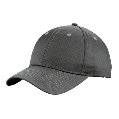 Port Authority Herren uniforming Twill Cap Gr. One size, stahlgrau (Twill Port Authority Cap)